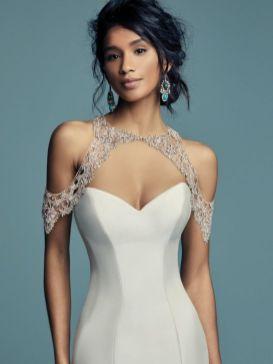 50 Shoulder Necklaces for Brides Ideas 5