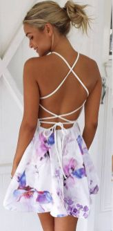 50 Summer Short Dresses Ideas 27