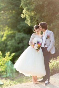 50 Tea Length Dresses For Brides Ideas 16 3