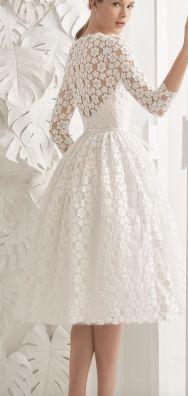 50 Tea Length Dresses For Brides Ideas 22 3