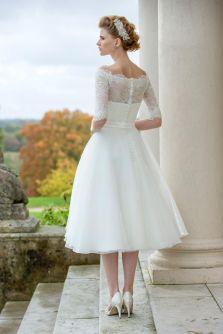 50 Tea Length Dresses For Brides Ideas 35 3