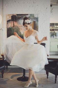 50 Tea Length Dresses For Brides Ideas 41 3