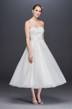 50 Tea Length Dresses For Brides Ideas 42 3
