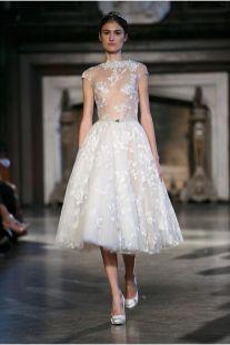 50 Tea Length Dresses For Brides Ideas 48 3