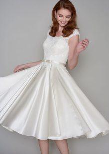 50 Tea Length Dresses For Brides Ideas 50 3