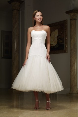 50 Tea Length Dresses For Brides Ideas 55 3