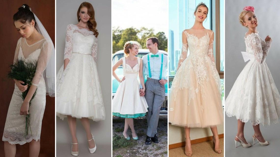50 Tea Length Dresses For Brides Ideas