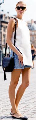50 White Sleeveless Top Outfits Ideas 48 1 1