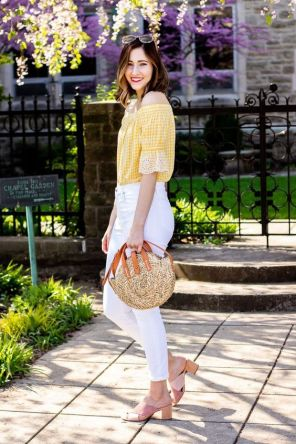 50 Woven and Bamboo Bags for Summer Ideas 20