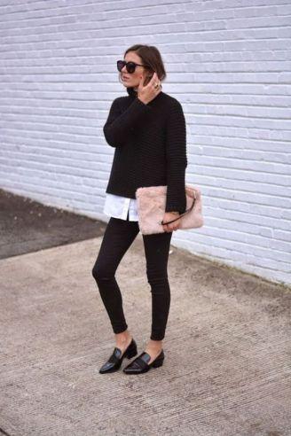 50 stilvolle Look Loafer Schuhe Street Styles Ideen 17
