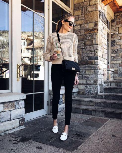 50 stilvolle Look Loafer Schuhe Street Styles Ideen 32