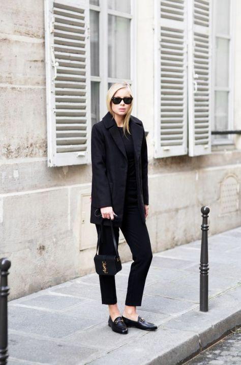 50 stilvolle Look Loafer Schuhe Street Styles Ideen 33
