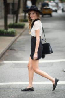 50 stilvolle Look Loafer Schuhe Street Styles Ideen 35