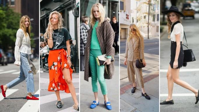 50 stilvolle Look Loafer Schuhe Street Styles Ideen