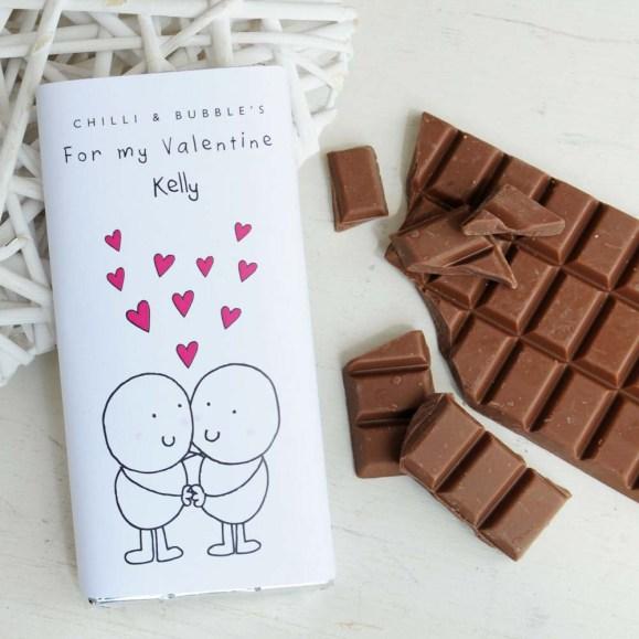 70 Schokoladengeschenk für Valentinstag Ideen 48