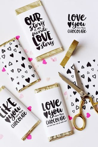 70 Schokoladengeschenk für Valentinstag Ideen 6 1