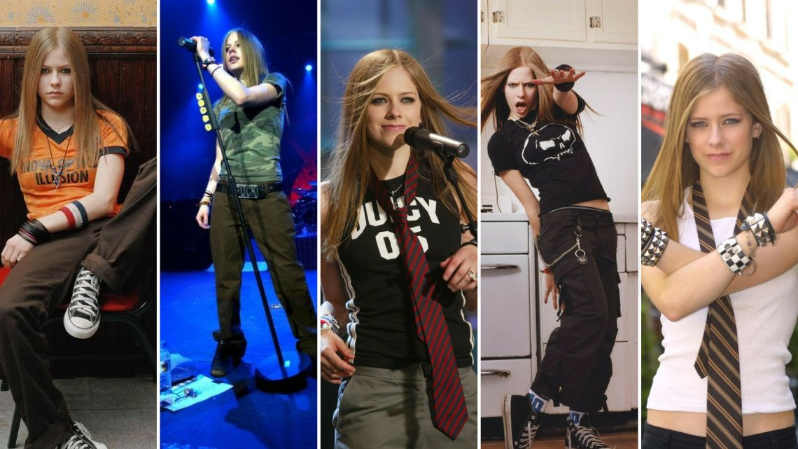 90 Old Avril Lavigne Styles Ideas
