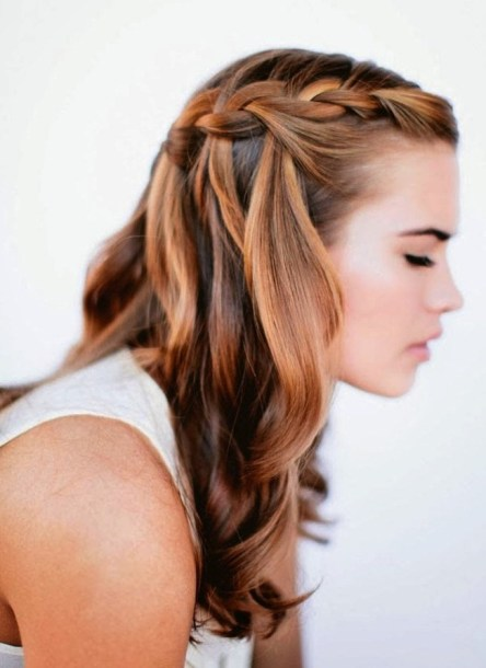 30 Simple Long Hairstyles for Party Look Ideas 11