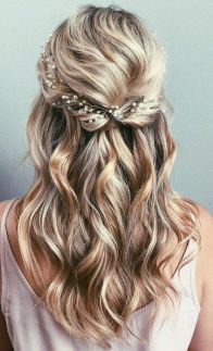 30 Simple Long Hairstyles for Party Look Ideas 15 1