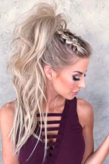 30 Simple Long Hairstyles for Party Look Ideas 18