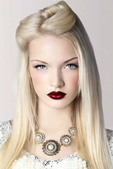 30 Simple Long Hairstyles for Party Look Ideas 2 1