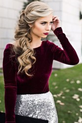 30 Simple Long Hairstyles for Party Look Ideas 29 1