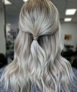 30 Simple Long Hairstyles for Party Look Ideas 30