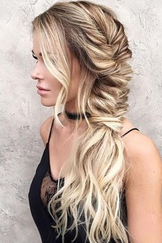 30 Simple Long Hairstyles for Party Look Ideas 8 1