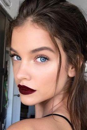 40 Burgundy Makeup Look Ideas 22