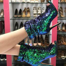 40 Chic Sequin Shoes Ideas 10
