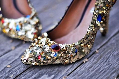 40 Chic Sequin Shoes Ideas 15