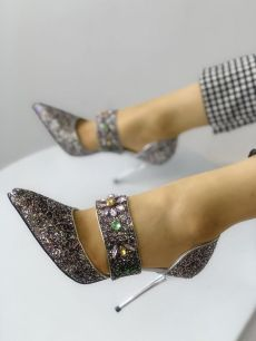 40 Chic Sequin Shoes Ideas 18