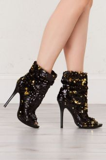40 Chic Sequin Shoes Ideas 2