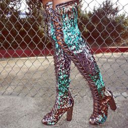 40 Chic Sequin Shoes Ideas 21