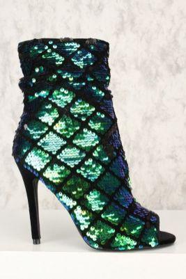 40 Chic Sequin Shoes Ideas 34