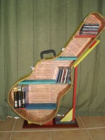 40 DIY Repurpose Old Guitars Ideas 16