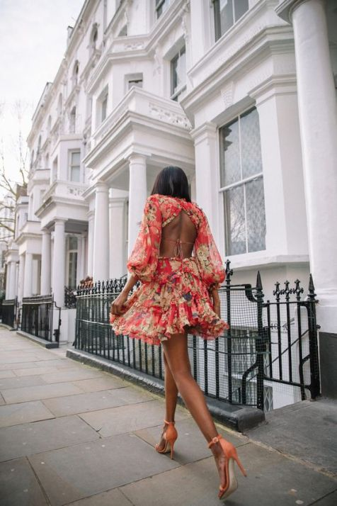 40 Fashionable Floral Print Dresses for Summer Ideas 19