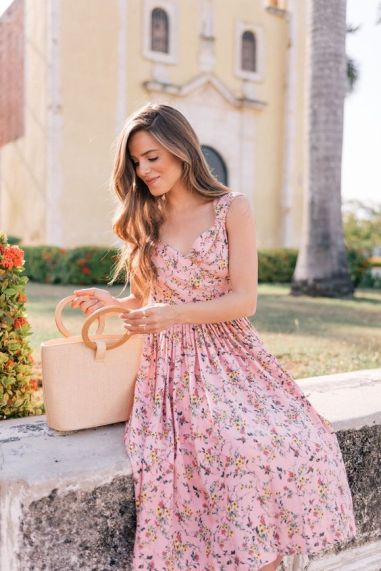 40 Fashionable Floral Print Dresses for Summer Ideas 48