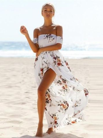 40 Fashionable Floral Print Dresses for Summer Ideas 8