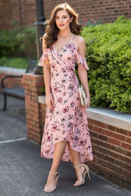 40 Fashionable Floral Print Dresses for Summer Ideas 9