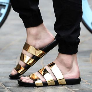 40 Glam Flat Sandals for Summer Ideas 15