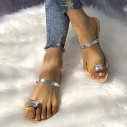 40 Glam Flat Sandals for Summer Ideas 17