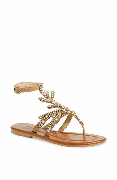 40 Glam Flat Sandals for Summer Ideas 19