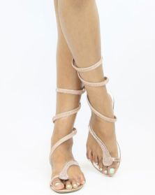 40 Glam Flat Sandals for Summer Ideas 45