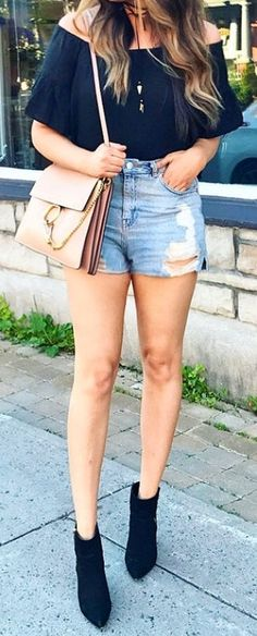 40 Hot pants Outfits for Perfect Summer Ideas 12