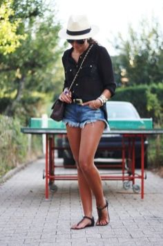 40 Hot pants Outfits for Perfect Summer Ideas 35