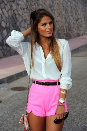 40 Hot pants Outfits for Perfect Summer Ideas 6