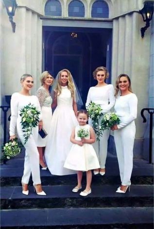 40 Jumpsuits Look for Bridemaids Ideas 2