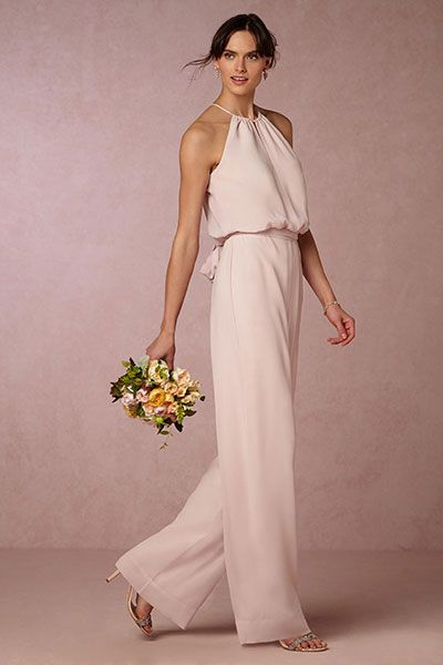 40 Jumpsuits Look for Bridemaids Ideas 21