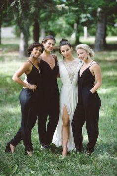 40 Jumpsuits Look for Bridemaids Ideas 22
